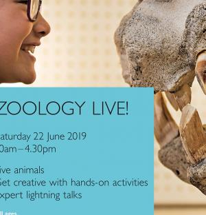 Read more at: Come along to Zoology Live! Sat 22 June 2019